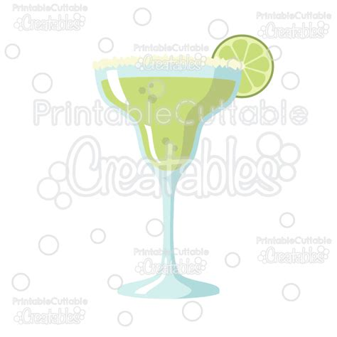 margarita svg margarita free svg file for silhouette studio cricut