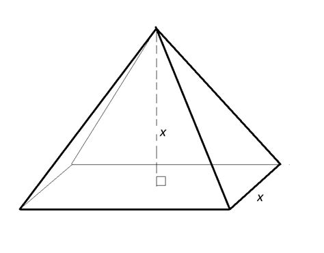 volume pyramid volume of a pyramid ged math