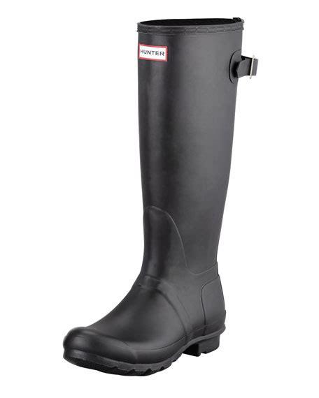matte black wellies minkoff bardot fringe the knee boot black