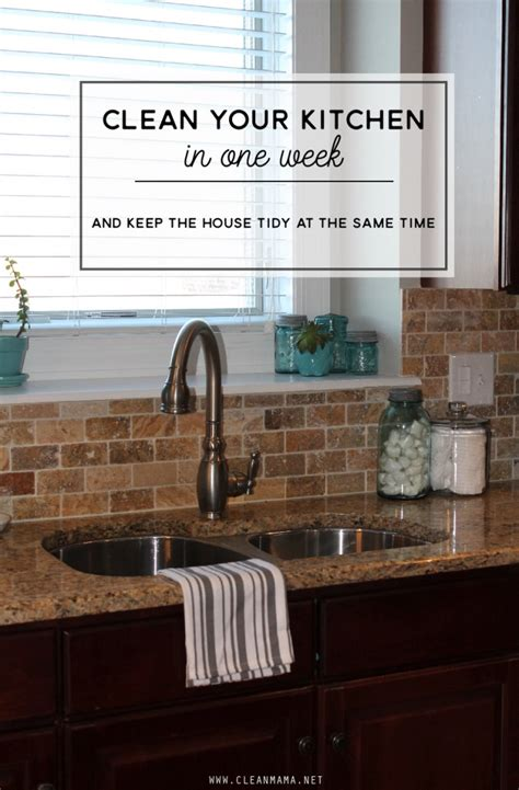 cleaning your kitchen come clean challenge week 1 kitchen clean mama