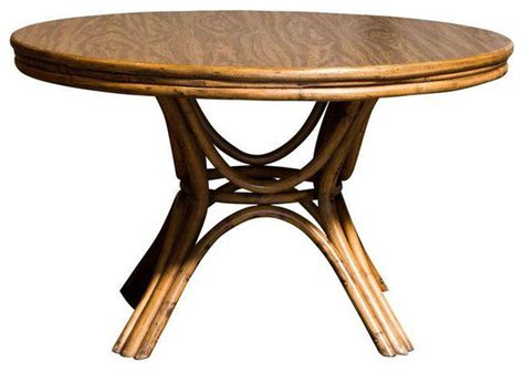 Bamboo Table by Bamboo Pedestal Dining Table 1 250 Est Retail