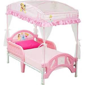 Walmart Canopy Furniture by Disney Princess Toddler Bed With Canopy Walmart Com