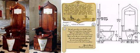 Herbeau Dagobert Wooden Toilet Throne Toilet, Ash tree and Ash