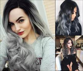 coloring hair gray trend name magnifying ombre grey hair colors hairstyleslatest com