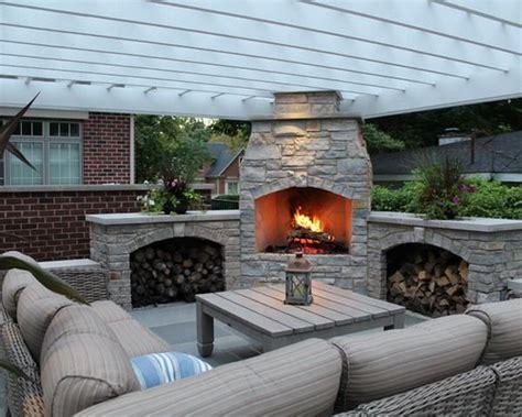 outdoor corner fireplace comfortable corner outdoor patio with custom fireplace