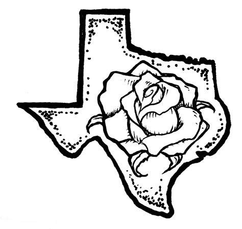 yellow rose coloring page 1000 images about yellow rose of texas tattoo on