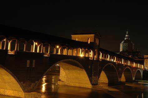 notte pavia file bridge in pavia by jpg