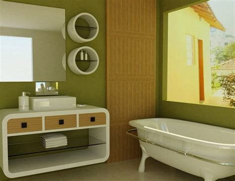 green and brown bathroom 18 relaxing and fresh green bathroom designs home design
