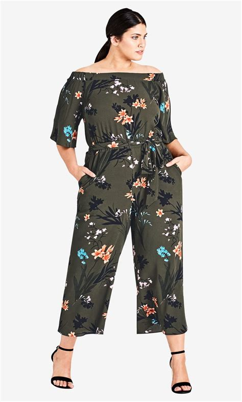 Floral Jumpsuit Premium Quality 52 best style by trend escape images on city chic ootd and