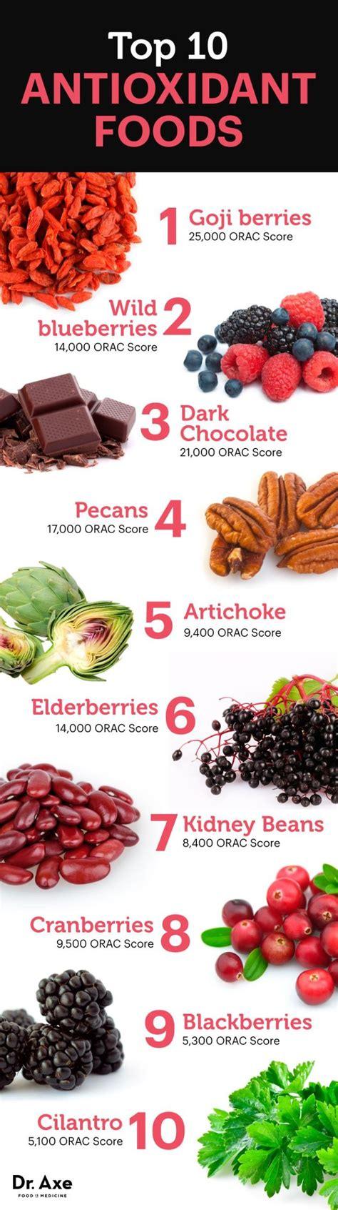 top 10 foods top 10 high antioxidant foods list ayurveda
