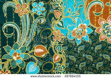 malay batik pattern vector the beautiful and colorful of art malaysian and indonesian