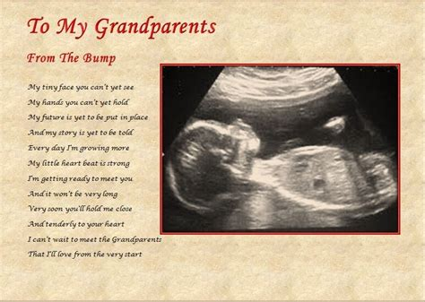 Nanny Grandad From The Bump Laminated  Ee  Gift Ee   S