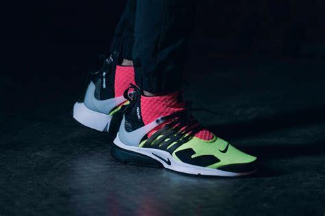 Nike Air Presto Lab Acronym acronym x nike air presto mid neon sneakers hypebeast