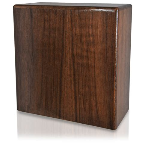 Pet Shelf book shelf pet wood urn walnut