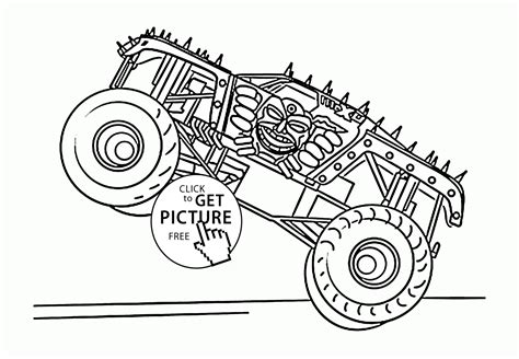 grave digger monster truck coloring pages 100 grave digger monster truck coloring pages