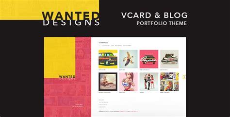 blog theme portfolio wanted personal portfolio blog and cv by themerex