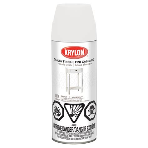 home depot krylon paint krylon aerosol paint chalky finish classic white