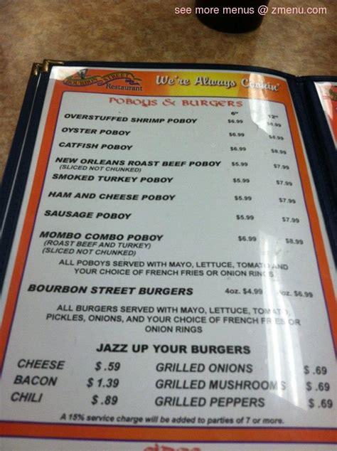 waffle house jennings la online menu of bourbon street cafe restaurant jennings louisiana 70546 zmenu