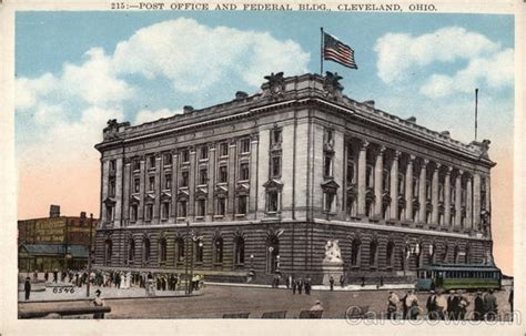 Post Office Cleveland by Post Office And Federal Building Cleveland Oh