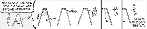 swing set physics 226 swingset explain xkcd