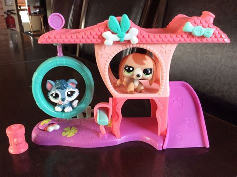 lps ebay house lps littlest pet shop rare playful puppy house w