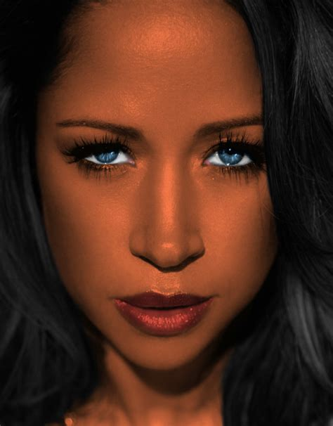 stacey dash eye color black with blue green or hazel