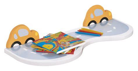 mensole cameretta neonato carta da parati mattoni