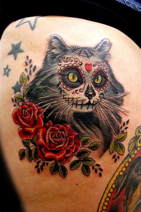 cat tattoo games 10 awesome cat tattoos