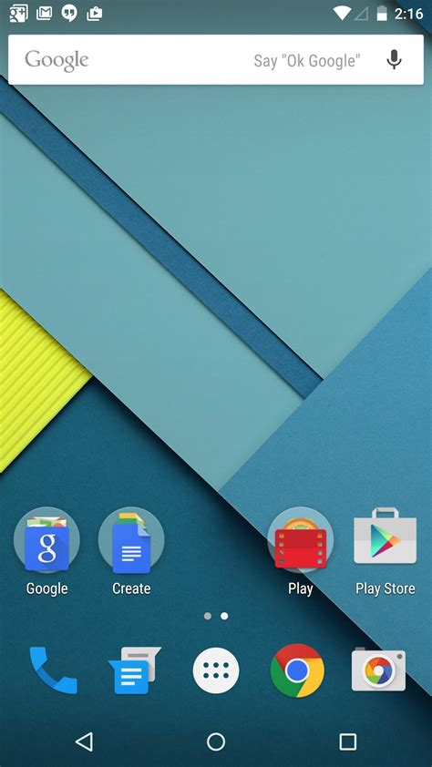 android home file android 5 0 quot lollipop quot homescreen jpg wikimedia commons