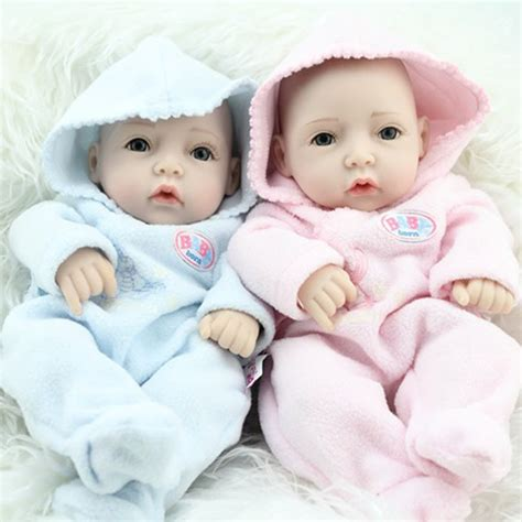 Baby Alive 11 Vinyl Mini Newborn Baby Dolls Boy Boneka Gift popular baby boy and buy cheap baby boy and lots from china baby boy