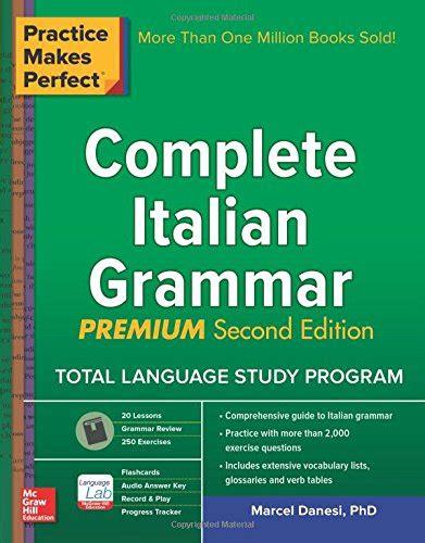 libro practice makes perfect complete practice makes perfect italian verb tenses corsi di lingue straniere e supporti didattici