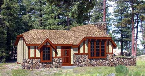 tiny tudor plans charming storybook cottage 12721ma architectural
