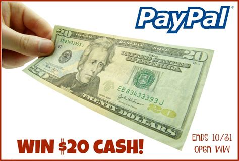 Need To Win Money - win 20 paypal cash contestalert ww ends 10 31