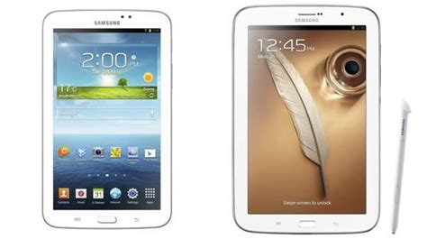 Samsung Galaxy Note Tab 8 diferencias entre samsung galaxy tab 3 y samsung galaxy