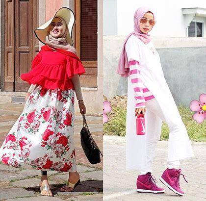 Baju Bekas New Dalimo Yel Blouse foto trik hijabers siasati baju lengan pendek untuk til stylish