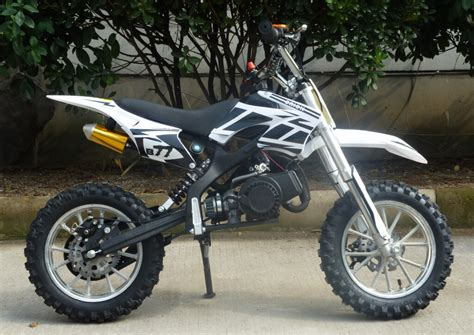 white motocross mini moto 50cc dirt bike scrambler motocross bike