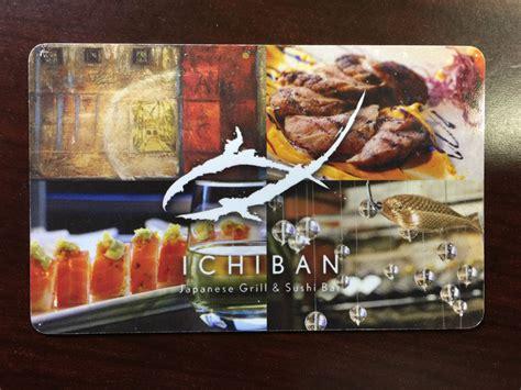 ichiban gift card lamoureph blog - Ichiban Gift Card