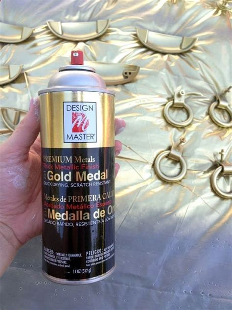 17 best images about gold spray paint on metallic gold sprays and milk bottles