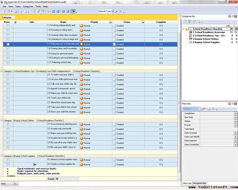 business supplies business supplies checklist