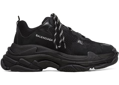 All Black Balenciaga balenciaga s black