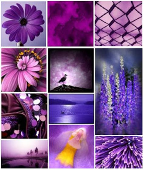 what mood is purple color fashion trends