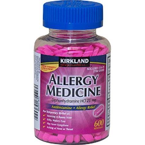 Shelf Of Benadryl by Buy Diphenhydramine Hci 25 Mg Kirkland Brand Allergy