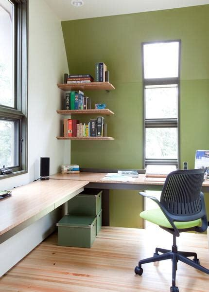 Home Office Furniture Ideas For Small Spaces 30 Corner Office Designs And Space Saving Furniture Placement Ideas Robin Wish Real Estate