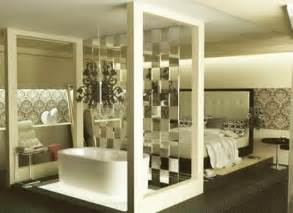 wall partition ideas glass partition wall design ideas and room dividers separating modern bedrooms from bathrooms