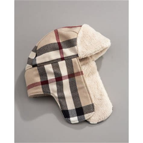 burberry mega check baby hat polyvore