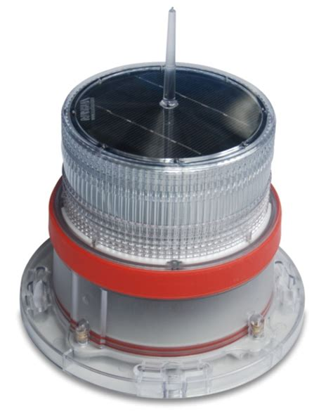 Led Solar Marine And Highrise Buildings Navigation Lights Marine Solar Lights