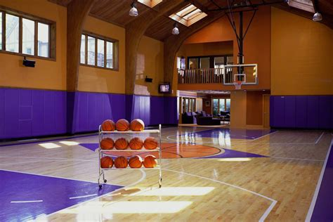 march madness 16 homes for sale with basketball courts