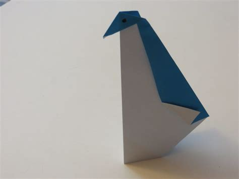 Animated Origami - free coloring pages origami how to make simple penguin