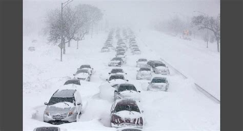 worst blizzard ever recorded the 10 worst traffic jams ever photos 6 of 10