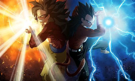imagenes goku en hd goku and vegeta ssj4 full hd fondo de pantalla and fondo